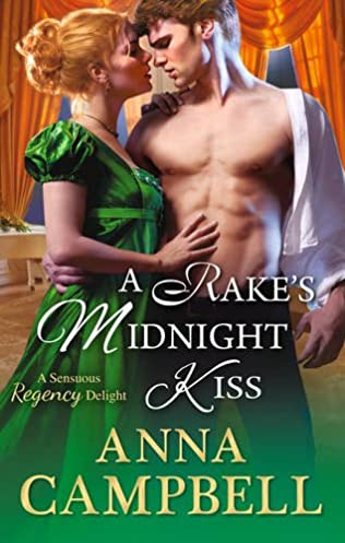 book cover of A Rake\'s Midnight Kiss
