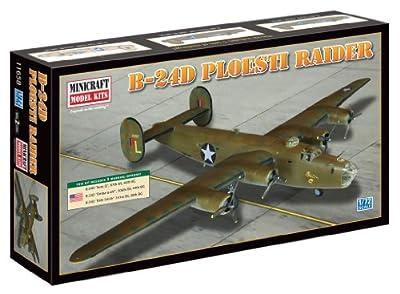 "Minicraft Models B-24D Liberator ""Polesti Raider"", 1/72 Scale"