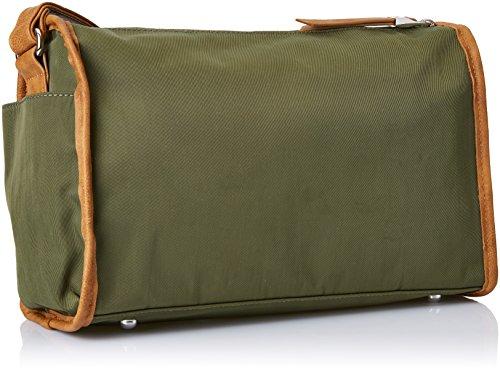 x 701151 Khaki para 12x24x33 Bolso H x Bandolera Munich Mujer W Verde L cm Ug4vqCT