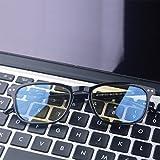 Computer Glasses,Sxacntg Anti Reflective/Eye Strain Lens,Blue Light Blocking Gaming Glasses and Prevent Headaches,Sleep Better Glasses for Women/Men/Boys/Girls(Black)