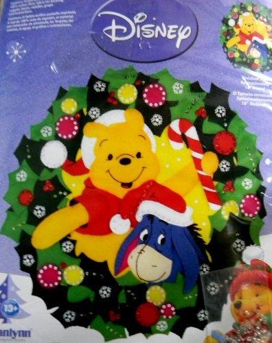 - Janlynn Disney Pooh & Eeyore Wreath Felt Applique Kit