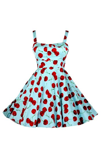 Ixia Wild Cherry Fold Over Dress-Aqua-Small