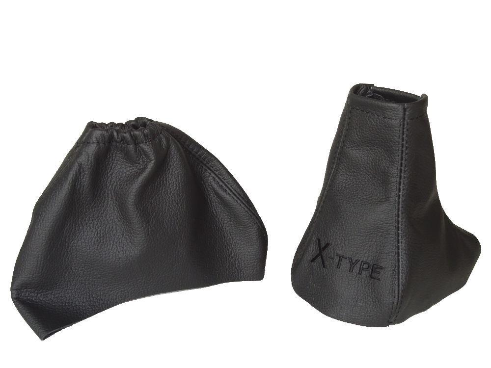 The Tuning-Shop Ltd Leather Gear & Handbrake Gaiter Italian Leather Black