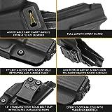 KYDEX IWB Holster for Glock 19   Glock 17   Glock