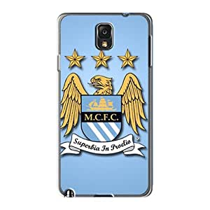 Samsung Galaxy Note 3 KZZ1623ecCR Unique Design HD Manchester City Fc Pattern Shockproof Cell-phone Hard Cover -TraciCheung