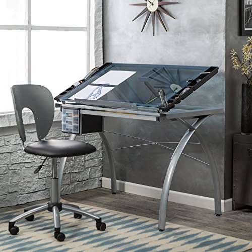 Studio Designs Futura Drafting Table and Chair Set by Studio Designs