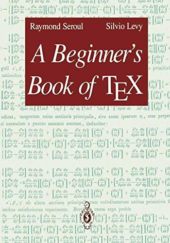 A Beginner's Book of TEX by Springer