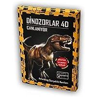 Dinozorlar 4D Canlaniyor - Artirilmis Gerçeklik Kartlari: Artırılmış Gerçeklik Kartları