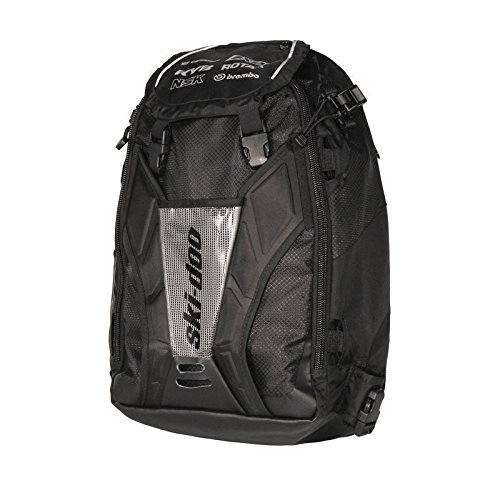 Ski Doo Tunnel Backpack with Linq Soft Strap-black #860200939 by Ski-Doo