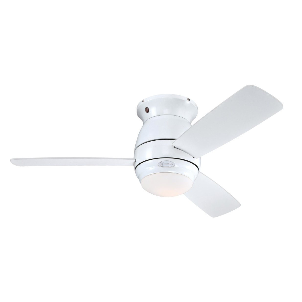 Westinghouse Halley Indoor Ceiling Fan, Metal, Brushed Nickel Westinghouse Lighting 7218140