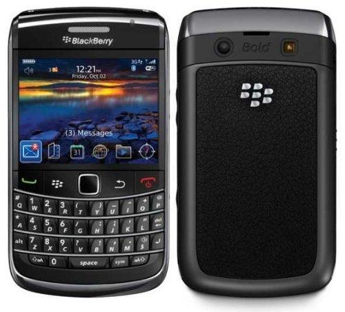 BlackBerry Bold 9700 Unlocked GSM 3G World Phone w/ Full Keyboard - Black (Certified Refurbished)