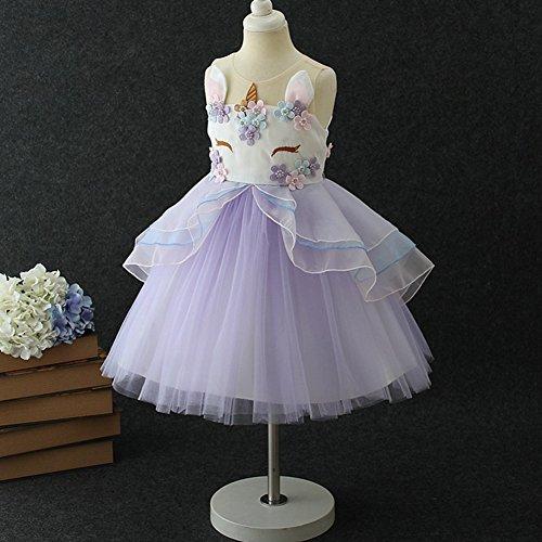 Ibtom Castle Baby Girls Flower Mythical Costume Cosplay