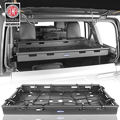 - Hooke Road Interior Cargo Rack Management for 2018 2019 Jeep Wrangler JL Unlimited 4-Door