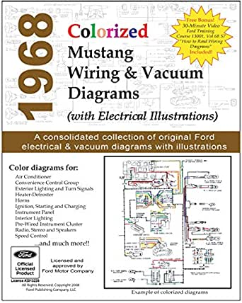 1968 Colorized Mustang Wiring and Vacuum Diagrams - Kindle edition by Motor  Company, Ford. Crafts, Hobbies & Home Kindle eBooks @ Amazon.com.Amazon.com