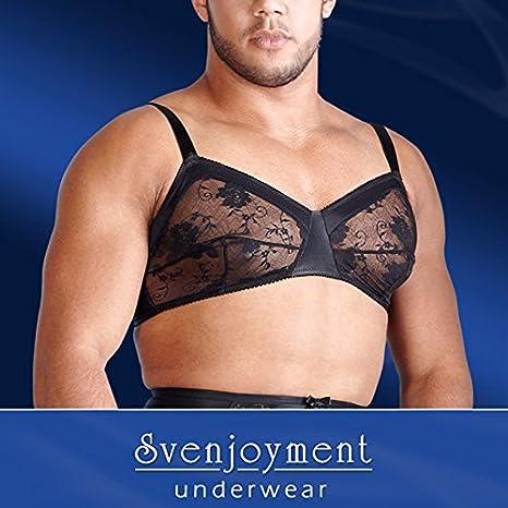 Svenjoyment Soutien Gorge pour Homme Noir Taille S  Amazon.fr ... e2dac68091d