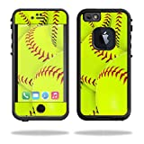 iphone 6 protective case softball - MightySkins Protective Vinyl Skin Decal for LifeProof fre iPhone 6/6S Case wrap cover sticker skins Softball Collection