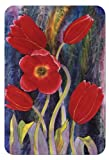 McGowan's TufTop Red Tulips Cutting Board