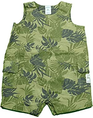 Carter's Baby & Toddler Boy's 1-Pc Sleeveless Rompers Shorts Camo