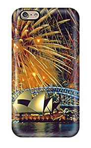Best 7905132K73272040 Perfect Tpu Case For Iphone 6/ Anti-scratch Protector Case (stunning Fireworks)