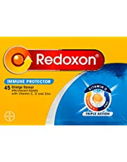 Redoxon Triple Action Effervescent Tab Orange, 45ct