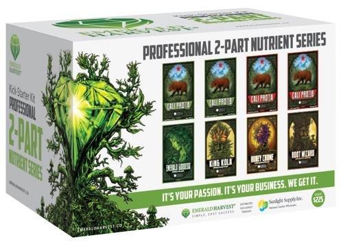 51CFAzyV4bL - Emerald Harvest Kick Starter Kit – 2 Part Base