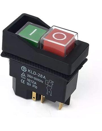 On Off Interruptor Botón para Belle Minimix 140 y Minimix 150 Cemento hormigonera eléctrica de 240