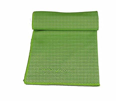 Deportes sudores toallas fitness Running Natación Tenis de Mesa Tenis toallas secas de verde fluorescente: Amazon.es: Deportes y aire libre