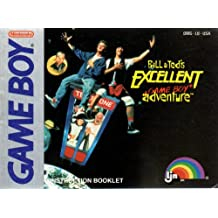 Bill & Ted's Excellent Adventure GB Instruction Booklet (Game Boy Manual Only - NO GAME) (Nintendo Game Boy Manual)