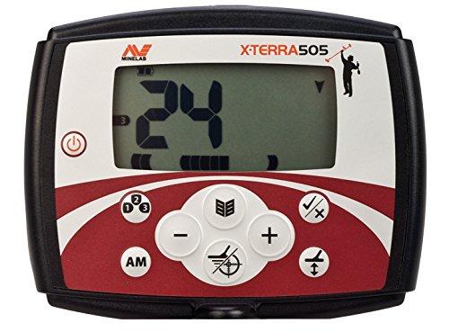 MINELAB X-TERRA 505 - Detector de metales (bobina de 26,6 cm): Amazon.es: Industria, empresas y ciencia