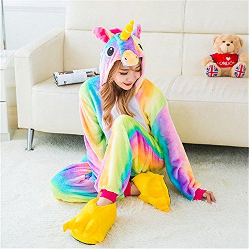 Cosplay Mystery Franela Iris Dormir Pijamas De Arco Monos Unisex Unicornio Fiesta Animales adulto Disfraces amp;melody Ropa Unicorn 4ttHrpqw