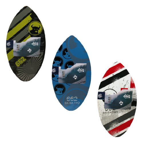 662 Wood Graphic Skimboard, Assorted, 39-Inch ()