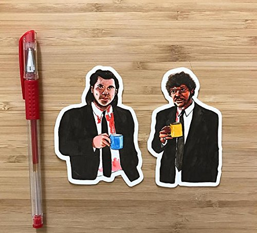 Pulp Fiction Vinyl Decal Sticker,