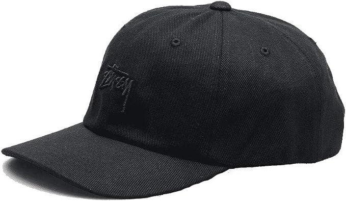 Stussy - Gorra de béisbol - para Hombre Negro Negro (Taille Unique ...