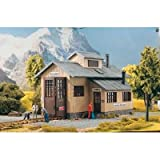 PIKO G SCALE MODEL TRAIN BUILDINGS - ROSENBACH ENGINE SHED - 62042