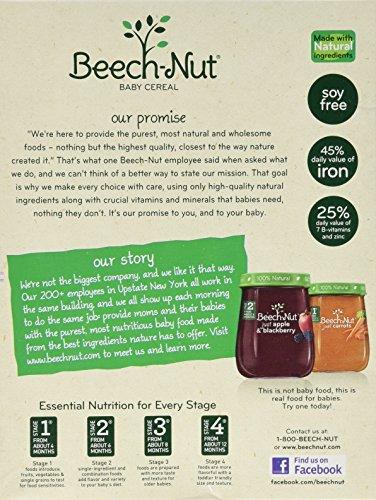 Beech-nut Single Grain Oatmeal Cereal 8 0z (Pack of 2)