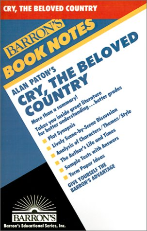 an analysis of the book cry the beloved country Cry, the beloved country : the book although alan paton wrote poetry, short stories and other novels, and was a well-known liberal party politician and opponent of apartheid, it is for writing cry, the beloved country that he is best known and remembered.
