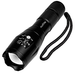 Outlite: Make The World BrighterSpecification1) Type of flashlight: tac light / handheld flashlight2) Adjustable Focus: can adjust its focus for different usage3) Output brightness: The best output brightness was powered by 18650 ba...