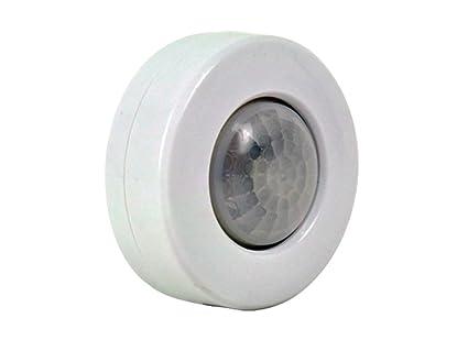 GAO Orientación LED Luz con sensor de movimiento, funciona con pilas, plástico, color