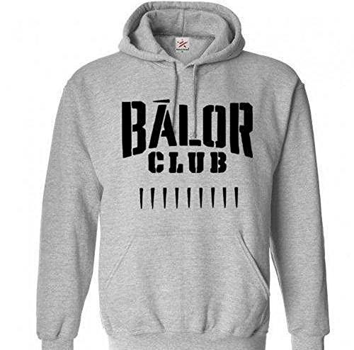 Squared Circle Balor Club Finn Bullet Club WWE Wrestling Wrestler Unisex Pullover Hoodie Sweatshirt Many Sizes S-5X Colors Gift (Small) by Squared Circle