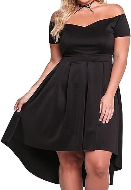 Amazon.com: XAKALAKA vestido de cóctel para mujer, con ...