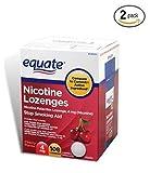 Equate - Nicotine Lozenge 4 mg, Stop Smoking Aid, Cherry Flavor, Lozenges, 108-Count (2 pack) (2)