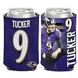 NFL Baltimore Ravens Can Cooler 12 oz. Justin Tucker Limited Can Koozie