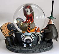 Nightmare Before Christmas ~ SANTA JACK Snow Globe