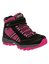 Regatta Regatta Boys & Girls Trailspace II Mid Waterproof Padded Walking Boots Polyurethane