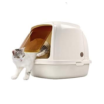 Leon s Shop - Arenero para Gatos, Orejas de Gato Totalmente Cerradas y desodorizadas