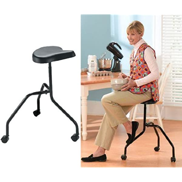 Amazon Com Roll About Stool Furniture Decor
