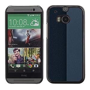 TopCaseStore / la caja del caucho duro de la cubierta de protección de la piel - Simple Pattern 25 - HTC One M8