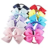 hipgirl boutique hair bow pony holder
