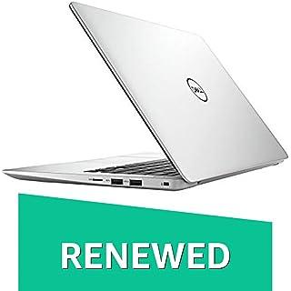 Renewed  DELL Inspiron 13 5370 13.3 inch Laptop  8th Gen Core i7 8550U/8 GB/256 GB SSD/Windows 10/2  GB AMD Graphics , Platinum Silver Laptops
