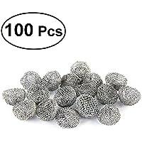 ULTNICE 100pcs pipa de tabaco filtro de bola